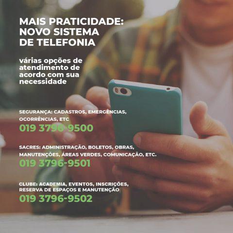 SISTEMA DE TELEFONIA DO ALPHAVILLE CAMPINAS